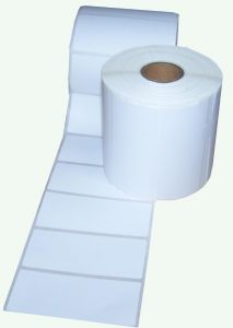 White Direct Thermal Labels Size 100mm x 50mm for Zebra ETC